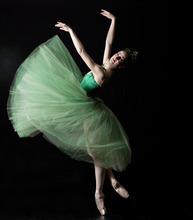 Ballet West principal dancers Christiana Bennett in George Balanchine's