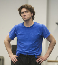 Chris Detrick  |  The Salt Lake Tribune Ballet West II director Christopher Ruud works with dancers as they rehearse