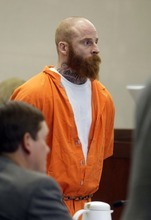 Eric Millerberg appears before the Second District Court in Ogden Monday, April 9, 2012.(MATTHEW ARDEN HATFIELD/Standard-Examiner)