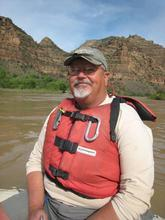 Roy Webb, multimedia archivist at the University of Utah's Marriott Library, will speak about his new book 'Lost Canyons of the Green River: The Story Before Flaming Gorge Dam,' April 15 in the library's Special Collections Gallery. Credit: Courtesy