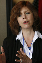 Scott Sommerdorf  |  The Salt Lake Tribune              Peg Coleman is the new executive director of the Utah Domestic Violence Coalition. Coleman's goal is that Utah can be a place where the standard is that every woman -- every person -- is respected and free from domestic violence.