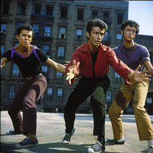 George Chakiris (center) as Bernardo in