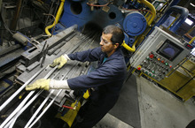 Francisco Kjolseth  | Tribune file photo     Futura Industries is based in Clearfield. Looking back over the past decade, the American Legislative Exchange Council said Utah's nonfarm employment in such sectors as transportation, high-tech, manufacturing and tourism grew 11.3, fifth-fastest in the U.S.