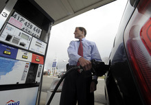Jim Michaud  |  The Associated Press Despite the increase in fuel costs, Utah remains the third-cheapest state in the nation for fuel. Prices nationally are high but have started to level off. In March, they gained 1.7 percent, slower than the 6 percent increase in February.