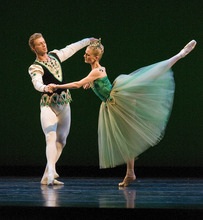Paul Fraughton | The Salt Lake Tribune  Ballet West dancers Easton Smith and Haley Henderson performing