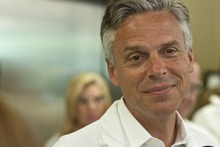 Chris Detrick  |  Tribune File Photo  Former presidential candidate and one-time Utah Gov. Jon Huntsman is paying off campaign debt with personal funds -- but he still has a ways to go.