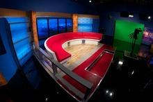 This interview area will be used for KSTU-Channel 13's morning newscasts. Courtesy photo
