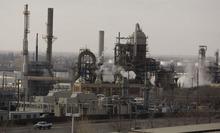 Jim Urquhart  |  The Salt Lake Tribune The Tesoro refinery Wednesday, February 10 2010 in Salt Lake City.