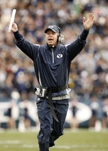 Tribune file photo BYU coach Bronco Mendenhall.