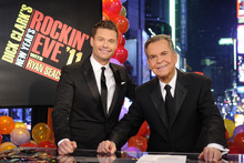 Dick Clark and Ryan Seacrest celebrated 40 years of history with the 2012 production of