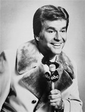 In this Dec. 1980 file photo released by ABC, Dick Clark is shown. Clark, the television host who helped bring rock `n' roll into the mainstream on