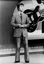 In this 1973 file photo released by ABC, Dick Clark presents the Rock and Roll Year_ a musical portrait of the 1950s and 1960s on the ABC television network in a series of five specials. Clark, the television host who helped bring rock `n' roll into the mainstream on