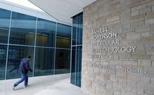 Al Hartmann  |  The Salt Lake Tribune The James L. Sorenson Molecular Biotechnology Building, the University of Utah's new $130 million USTAR facility, will be dedicated on Thursday, April 19.