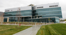 Al Hartmann  |  The Salt Lake Tribune The James L. Sorenson Molecular Biotechnology Building, the University of Utah's new USTAR facility, cost $130 million, most of which was contributed by taxpayers. The building will be  dedicated on Thursday, April 19.
