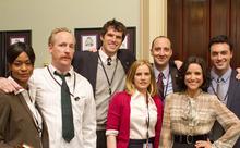 Sufe Bradshaw, Matt Walsh, Timothy C. Simons, Anna Chlumsky, Tony Hale, Julia Louis-Dreyfus and Reid Scott star in HBO's