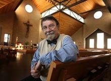 Leah Hogsten  |  The Salt Lake Tribune Former Mormon Richard Sherlock completed his convension to Catholicism on Easter at St. Thomas Aquinas Catholic Parish near Logan.