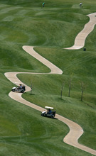 Steve Griffin/The Salt Lake Tribune Golfers flock to the Old Mill Golf Course in Salt Lake City, Utah Monday April 23, 2012. The high temperature for Monday eclipsed the record for the date of 85 degrees, set in 1934.