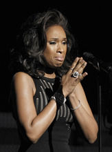 In this Feb. 12, 2012 file photo, Jennifer Hudson performs