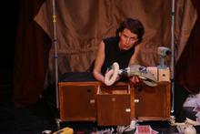 Performance artist Michelle Ellsworth will present a work during