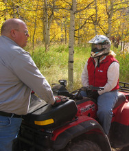 Fred Hayes, a 30-year employee of the agency who once worked as a off-highway vehicle education specialist, was named director of Utah State Parks April 24, 2012. Courtesy Utah State Parks