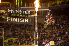 Andrew Short, a Honda rider who won last weekend's AMA Supercross race in Seattle will be at Utah's AMA Supercross Race this Saturday.  Courtesy photo