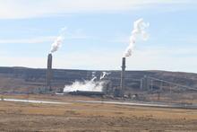 Rick Egan  | The Salt Lake Tribune   A power plant, near Pinedale, Wyo., Wednesday, March 22, 2012.