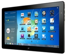 The Samsung Series 7 Slate tablet PC, which runs on Windows.
