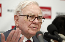 (AP Photo/Shuji Kajiyama, File) The conglomerate has a succession plan in place. Berkshire will split Warren Buffett's job into three when he's gone, and the board has chosen his successor -- although Buffett has said that person doesn't know it yet.