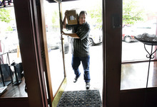 Scott Sommerdorf  |  The Salt Lake Tribune              Morgan Valley Lamb owner Jamie Gillmor makes a delivery Thursday to Bistro 258 in Ogden. Morgan Valley Lamb, in business since 2001, is closing down its operations. After three generations of sheep ranchers, the extended family has decided to sell off all of its grazing lands in northern Utah.