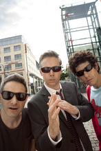In this undated publicity image released by Nasty Little Man, the group Beastie Boys, from left, Adam