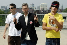 In this July 26, 2006 file photo, Beastie Boys members Adam Yauch