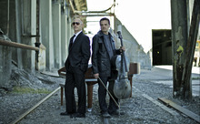 The Piano Guys are pianist Jon Schmidt and cellist Steven Sharp Nelson, who filmed their