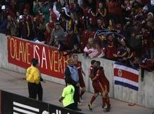 Rick Egan  | The Salt Lake Tribune   Real Salt Lake celebrates their second goal of the game,  in MLS action, Real Salt Lake vs. New England Revolution, at Rio Tinto Stadium, Saturday, May 5, 2012.