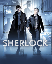 Benedict Cumberbatch as Sherlock Holmes and Martin Freeman as Dr. John Watson. Courtesy BBC for MASTERPIECE