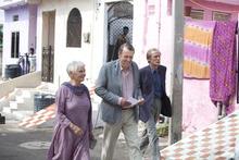 Judi Dench, Tom Wilkinson and Bill Nighy (from left) star in