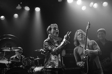 Van Halen recording 'Tattoo' music video at the Roxy. October 26th, 2011