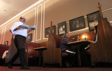 Tribune file photo You'll need reservations to treat Mom (and Grandma) on Mother's Day, the busiest dining day of the year.  Lamb's Grill in Salt Lake City is among the Utah restaurants that will be open on Mother's Day.
