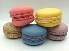 Macarons are just one of many confections served in the patisserie inside Grand America Hotel in Salt Lake City.
