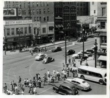 Tribune file photo  A view of Salt Lake City on July 14, 1943.