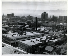Tribune file photo  A view of Salt Lake City on Oct. 26, 1945.