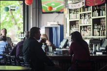 Chris Detrick  |  The Salt Lake Tribune Patrons drink at Dick N' Dixie's Friday May 11, 2012.