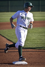 Utah Valley first baseman Goose Kallunki. Courtesy Utah Valley University