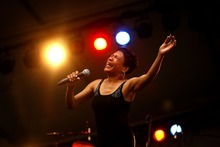 Tribune file photo Bettye Lavette performing at Red Butte Garden in 2007. She will perform at the Living Traditions Festival in Salt Lake City on May 19.