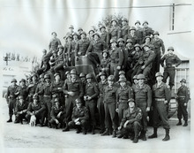 Tribune file photo  Co. A 213 Armored Field Artillery Battalion poses for a group photo in Richfield, Utah, on August 19, 1950. They left for Fort Lewis ten days later and from there went to Korea.