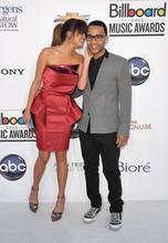 John Legend and Chrissy Teigen arrive at the 2012 Billboard Awards at the MGM Grand oon Sunday, May 20, 2012 in Las Vegas, N.V.  (AP Photo/John Shearer)
