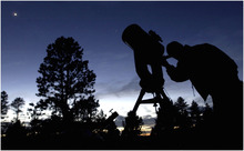 Tribune file photo The 12th annual Bryce Canyon Astronomy Festival will be May 17-20 and will include viewing of the