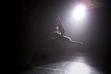Allison DeBona performs in the pilot of