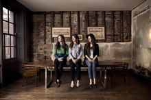 The Staves open for Bon Iver at Red Butte Garden on May 29. Courtesy photo