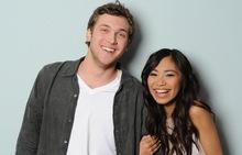 AMERICAN IDOL: The final 2: L-R: Phillip Phillips and Jessica Sanchez. CR: Michael Becker / FOX.