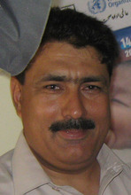This photo taken on July 9, 2010 shows Pakistani doctor Shakil Afridi taken in Pakistani tribal area of Jamrud in Khyber region. Pakistani doctor Afridi, who helped the U. S. track down Osama bin Laden, was sentenced to 33 years in prison on Wednesday for conspiring against the state, officials said. (AP Photo/Qazi Rauf)